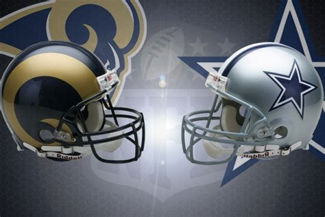 nfl week   los angeles rams  dallas cowboys