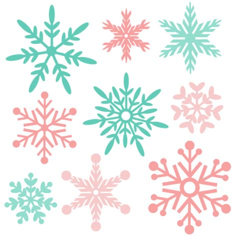 Link to free download : Snowflake Winter SVG scrapbook cut file cute clipart files ...