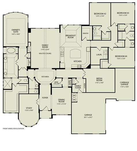 Custom Ranch Floor Plans by Marley 123 Drees Homes Interactive Floor Plans Custom