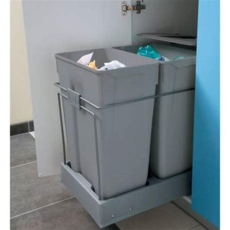 poubelle cuisine sous evier poubelle tri sélectif sous évier accessoires de cuisine