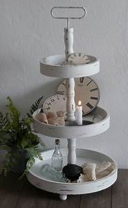 Dekorieren Im Shabby Look : 9 best images about etagere on pinterest deko home and shabby chic cakes ~ Markanthonyermac.com Haus und Dekorationen