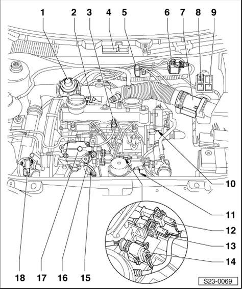 Skoda Fuel Pressure Diagram by Skoda Workshop Manuals Gt Octavia Mk1 Gt Drive Unit Gt 1 9