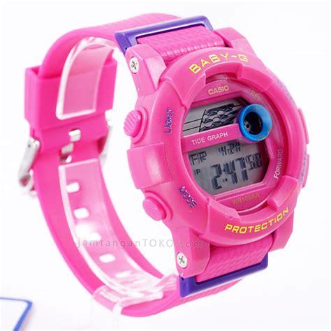 jam tangan wanita baby g pink gambar baby g digital bgd 180 all pink bagian sing 2