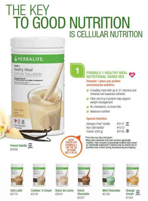 herbalife products discover the power of nutrition