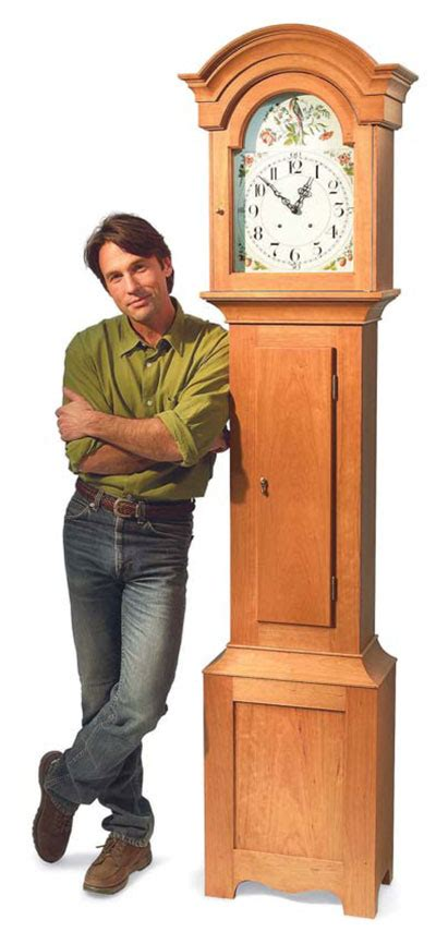 aw extra  country style grandfather clock