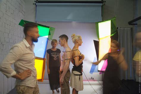 From left to right: designer Daniil Melkikh, photographer ...