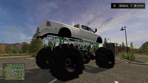 dodge mud lifted   fs farming simulator