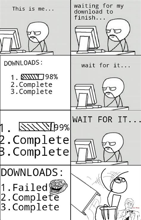 Meme Video Download This Is Me Waiting For My Download To Finish Downloads