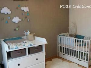 chambre bébé bleu et blanc deco chambre bebe taupe et blanc visuel 8