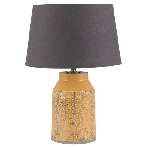 table lamps  bedroommodern mustard table lamp candle