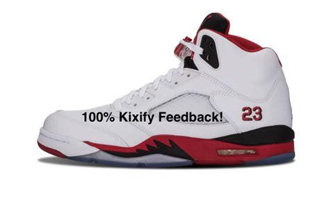 3air Jordan 5 Fire Red (black Tongue) 2013