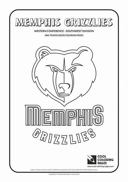 Coloring Nba Pages Logos Cool Teams Basketball