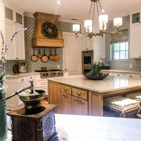 top   french country kitchen interior  home design  luxury