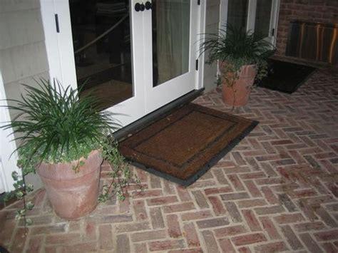 brick flooring thin brick and brick pavers on