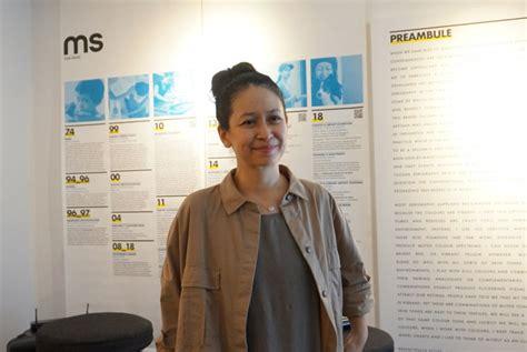 melissa sunjaya mendukung serigrafi melalui pameran good