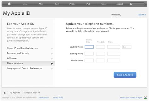phone number identifier managing apple id with your osx ios devices for maximum
