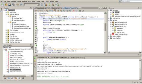 netbeans ide web services development