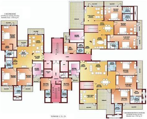 5 bedroom 1 house plans 3 bhk apartments in delhi 4 bhk apartments in