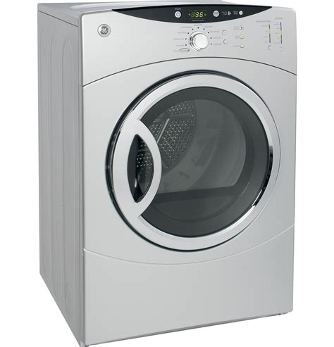 ge  cuft super capacity electric dryer dcvhejms ge appliances