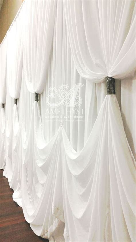 curtain draping ideas 685 best images about receptions draping on