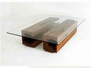 table round glass coffee table with wood base deck With round glass coffee table with wood base