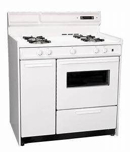Summit 36 Inch Gas Range With Electronic Ignition  Timer