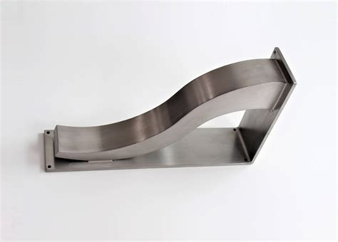 Steel Corbels by Stainless Steel Countertop Support Brackets Architectural