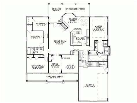 sq ft level  house plans house plans country