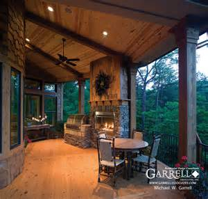 house plans with covered porches tranquility luxurious mountain house plan