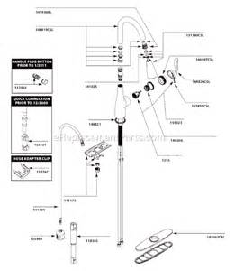 moen kitchen faucet manual moen 7594csl parts list and diagram ereplacementparts