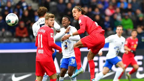 V., commonly known as rb leipzig or informally as red bull leipzig, is a german professional football club based in leipzig, saxony. RB Leipzig - Hertha BSC: So endete das Bundesliga-Duell ...