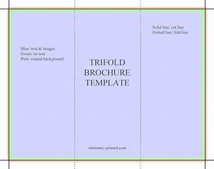 blank tri fold brochure template word blank brochure With simple brochure template for word