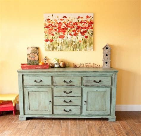 dresser and hutch chalk paint furniture finishing to improve your room