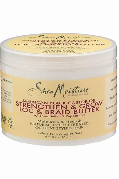 Oil Castor Butter Hair Moisture Loc Shea