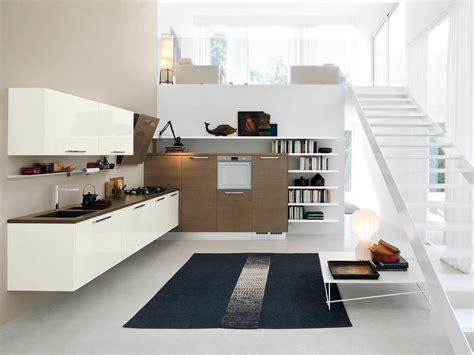 cuisine suspendue cuisine intégrée suspendue avec barre collection by