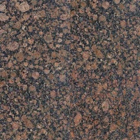 sle of 12x12 polished baltic brown granite tile
