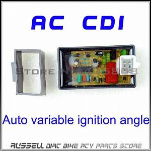 5pin Ac Cdi Box Auto Variable Ignition Angle For Scooter Monkey Dirt Bike Go Kart Atv Dio 50