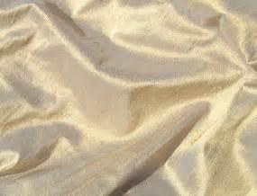Champagne Gold Iridescent Dupioni Silk Fabric | ChadQuilt  Silk