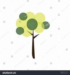 Green Tree Icon Stock Vector 222515023 - Shutterstock