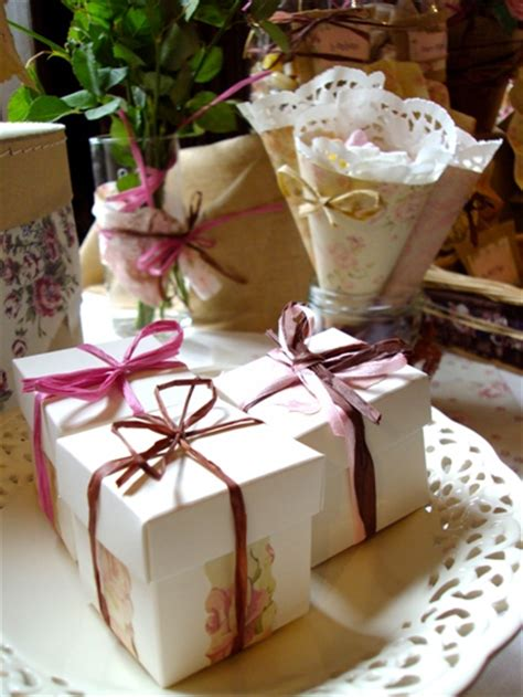 shabby chic wedding favours french country dessert table