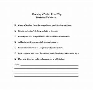 Vacation Travel Itinerary Template Free 6 Road Trip Itinerary Templates In Pdf Psd Eps Ai