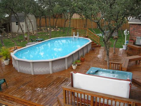 Above Ground Pool Decks Pictures by Best Swimming Pool Deck Ideas