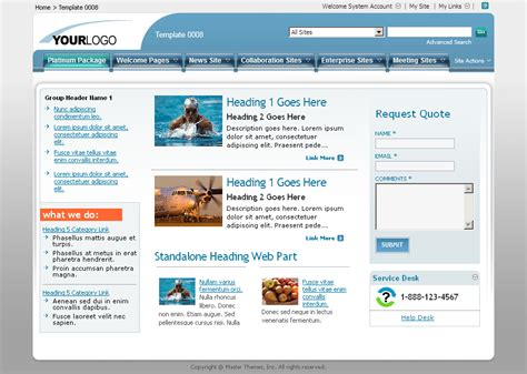 sharepoint templates sharepoint exles search engine at search