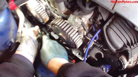ford focus  st cambelt  water pump change mark