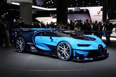 Bugatti Previews Veyron Successor With Vision Gt Concept