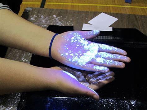 Glo Germ: visual tool for handwashing training, aseptic