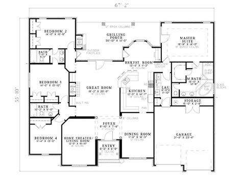traditional two house plans fromberg traditional home plan 055d 0748 house plans and