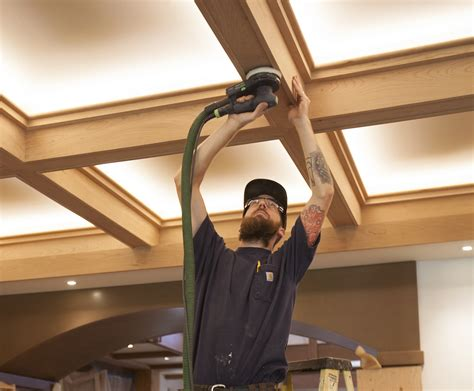 craftsman style home interiors a craftsman style coffered ceiling jlc