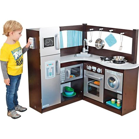 cuisine kidkraft ma grande cuisine d 39 angle en bois imitation jouets en bois garçon joueclub joué