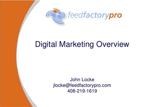 introduction to digital marketing course an introduction to digital marketing